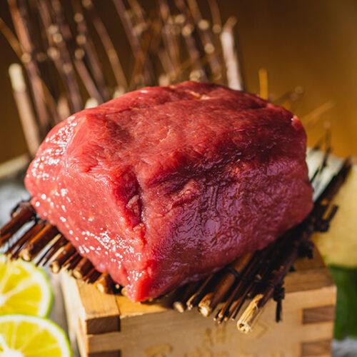 【1日1食限定】シャトーブリアンの肉塊刺し 3580円